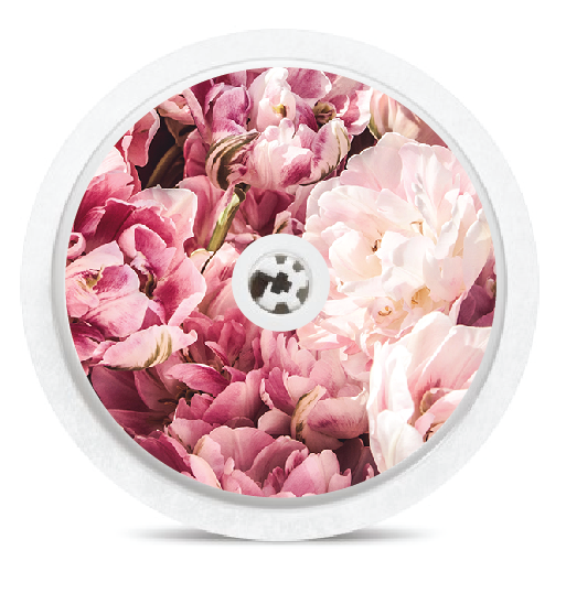 Bunch of Peonies Freestyle Libre Sensor Stickers