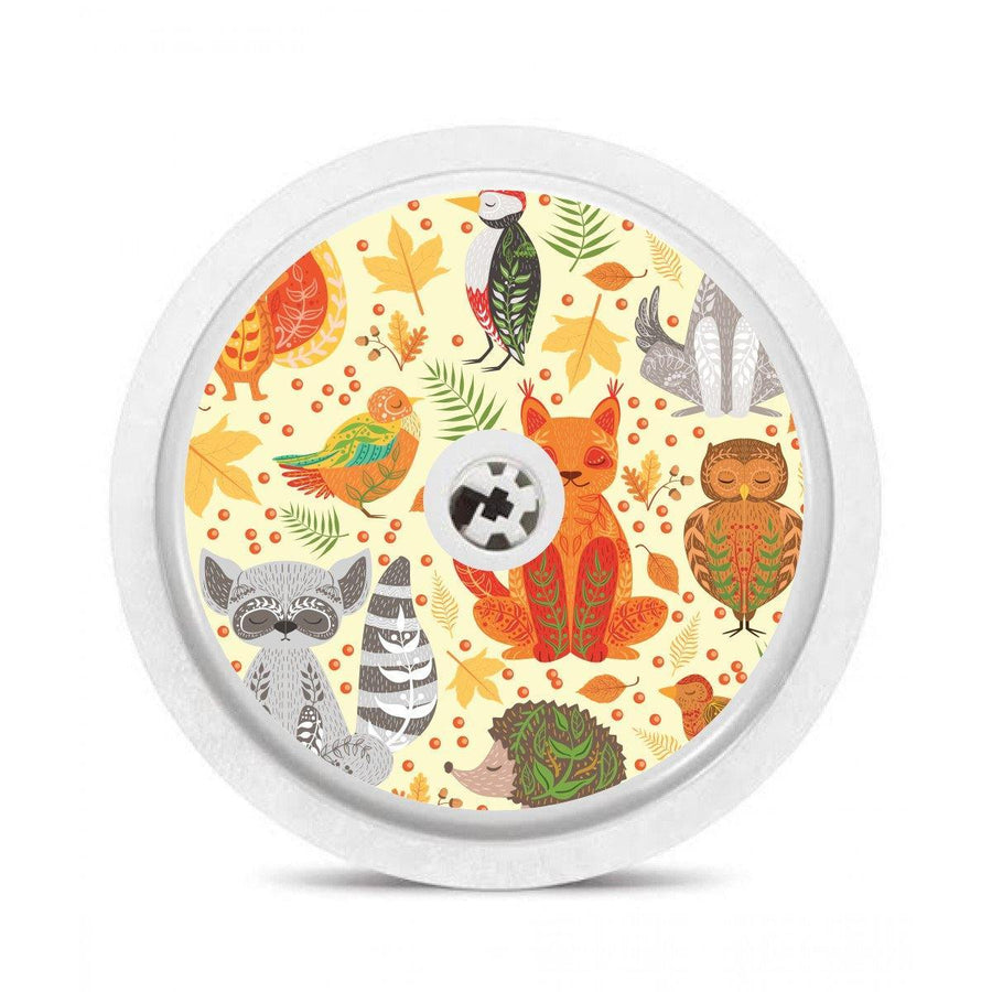 Freestyle Libre Sensor Sticker decal: woodland animals