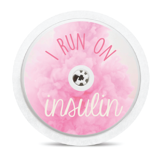 I Run on Insulin Freestyle Libre Sensor Stickers