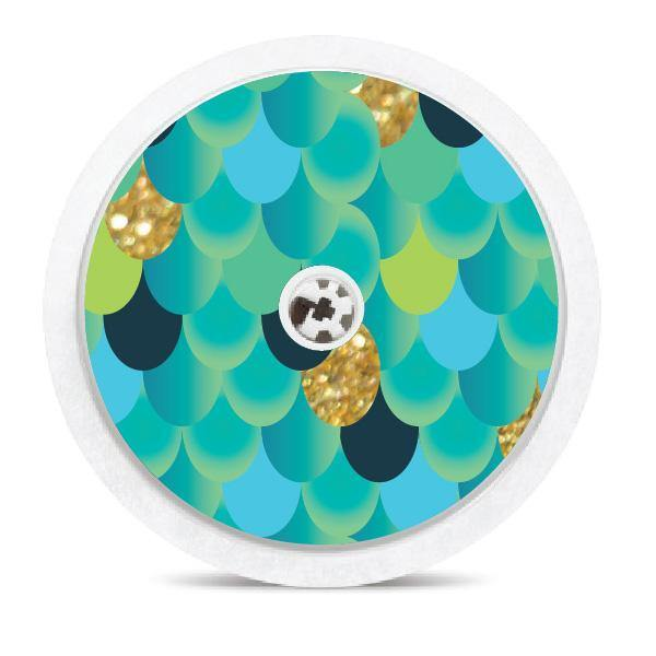 Mermaid Tail Freestyle Libre Sensor Sticker