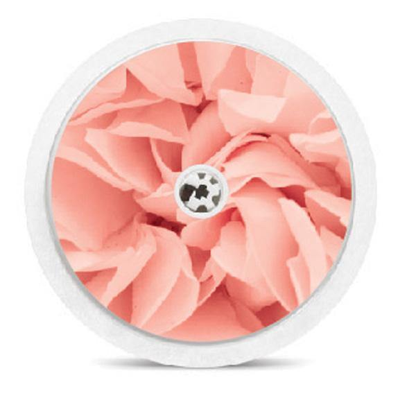 Freestyle Libre Sensor Sticker Decal: pink flower petal