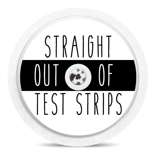 Straight Out Freestyle Libre Sensor Stickers