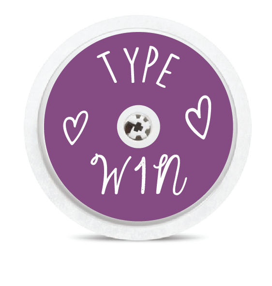 Type W1N Freestyle Libre Sensor Stickers