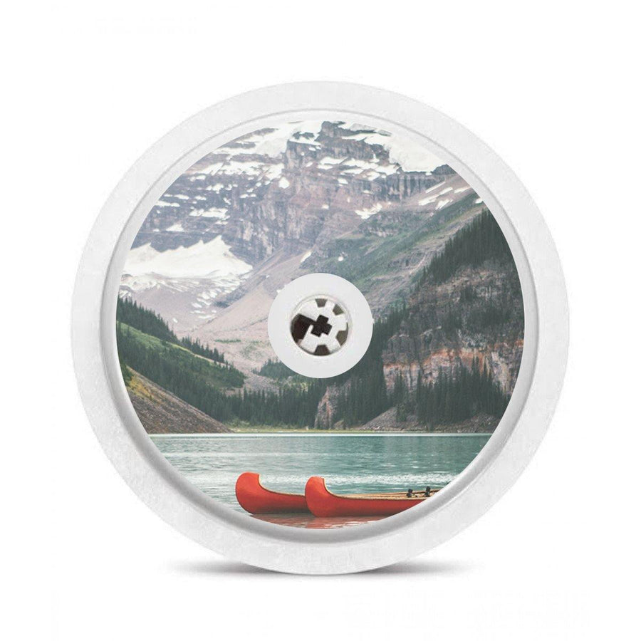 Set of 5 Canada Themed Freestyle Libre Sensor Stickers