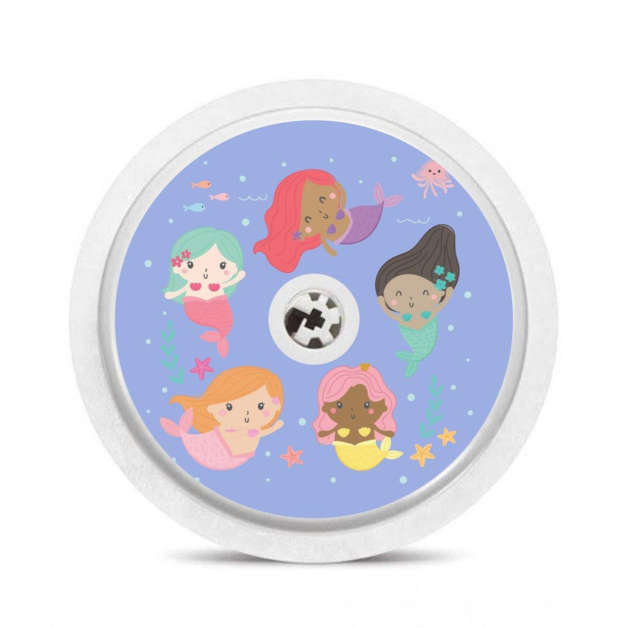 Freestyle Libre Sensor and Reader sticker set: Mermaids and Unicorns