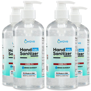WAVE HAND SANITIZER (GEL) 16.9 Oz