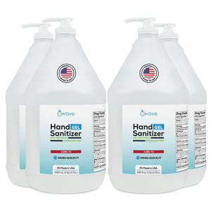 WAVE HAND SANITIZER (GEL) Gallon with Pump
