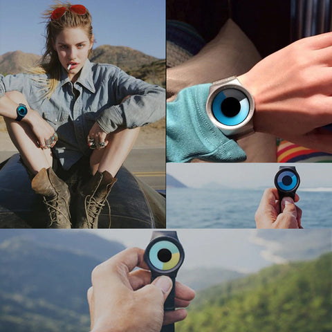 Astro Watch Earth Blue color-changing watch from Aliens Gear.