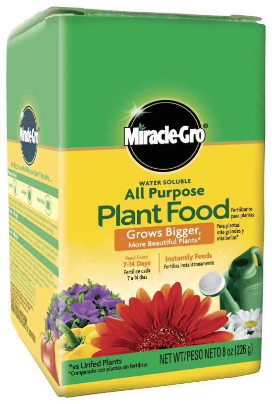 MIRCALE-GRO WATER SOLUBLE ALL PURPOSE PLANT FOOD