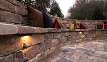 Load image into Gallery viewer, Stonegate 3-Piece Combo Retaining Wall Stones Tumbled (60 pcs / 26sq ft / pallet)