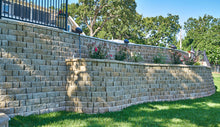 Load image into Gallery viewer, Harrington 3-Piece Combo Retaining Wall System