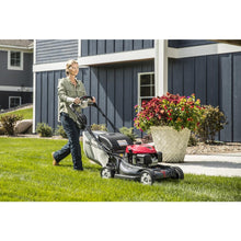 "Load image into Gallery viewer, Self-Prop Mower 21"" Elec.Start Mulch Bag Shred Discharge 662310"