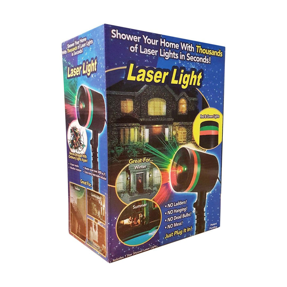Magic Laser Light Star Shower