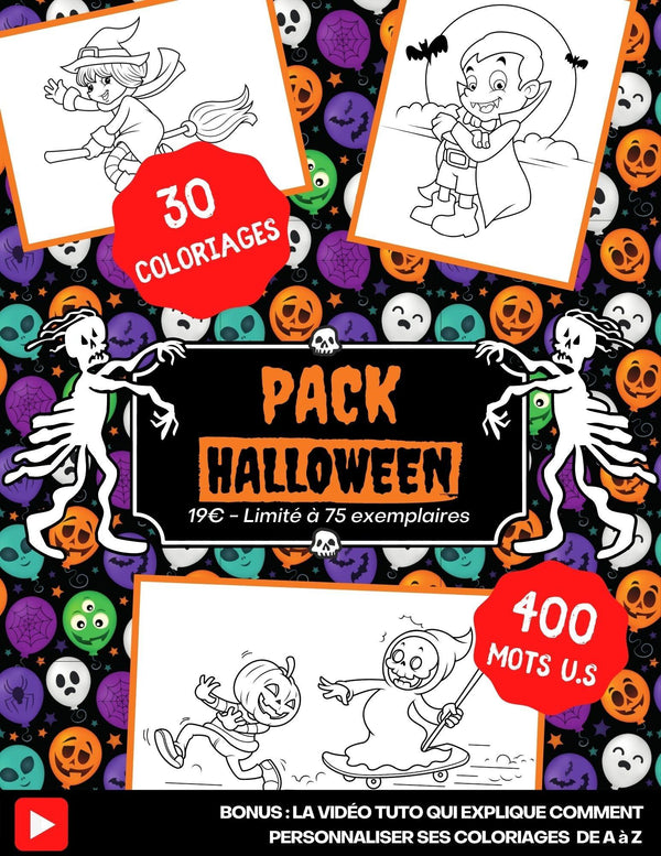Affiche Pack Halloween Low Content