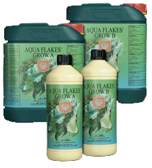 House & Garden - Aquaflakes Grow A & B - NPK Technology Hydroponics