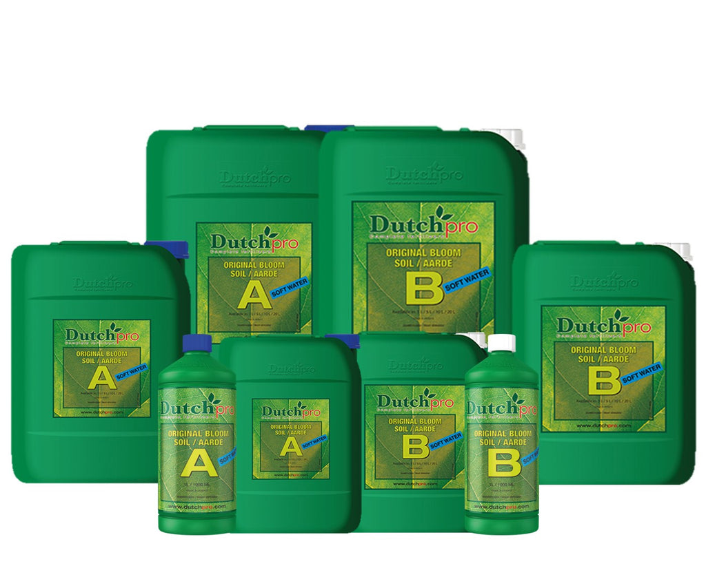 Dutch Pro - ORIGINAL BLOOM SOIL A+B - SOFTWATER - NPK Technology Hydroponics