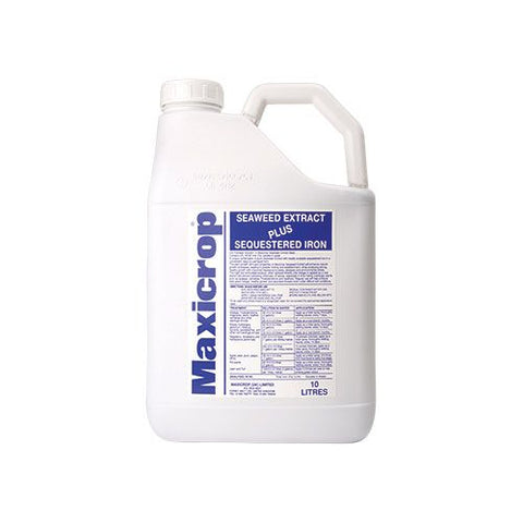 Maxicrop seaweed extract plus sequestered iron 10L - NPK Technology Hydroponics