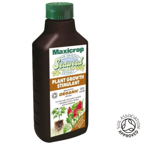 Maxicrop Seaweed extract 500ml - NPK Technology Hydroponics