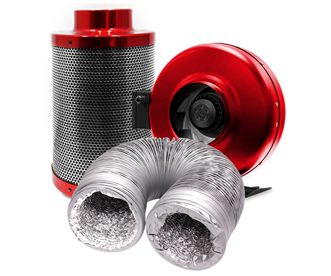 Red Scorpion Fan Kits - NPK Technology Hydroponics