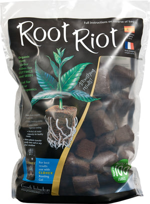 Growth Technology - Root Riot - NPK Technology Hydroponics