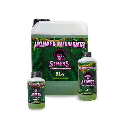 Monkey Nutrients Stress/ Silicone