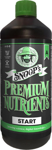 Snoops Premium Nutrients Start A&B - NPK Technology Hydroponics