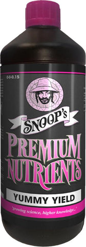 Snoops Premium Nutrients Yummy Yield - NPK Technology Hydroponics