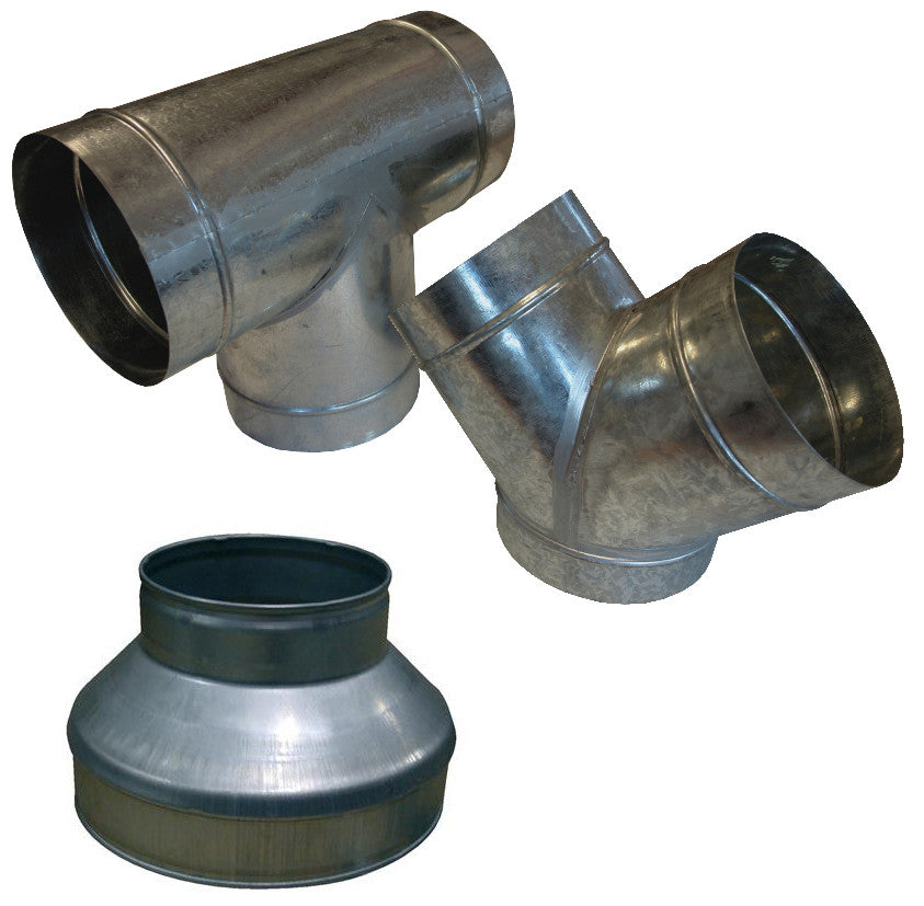 Metal Ducting Connectors - NPK Technology Hydroponics