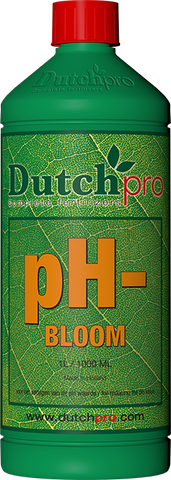 Dutch Pro - pH- Bloom - NPK Technology Hydroponics