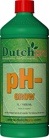 Dutch Pro - pH- Grow - NPK Technology Hydroponics