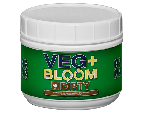VegBloom DIRTY BASE - NPK Technology Hydroponics