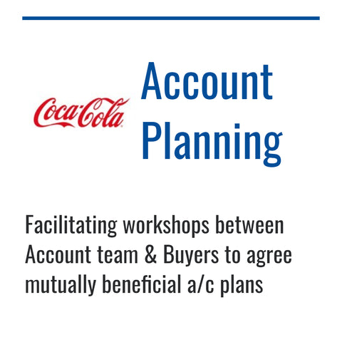 Coca Cola account planning route to market strategy by Dynamic Reasoning