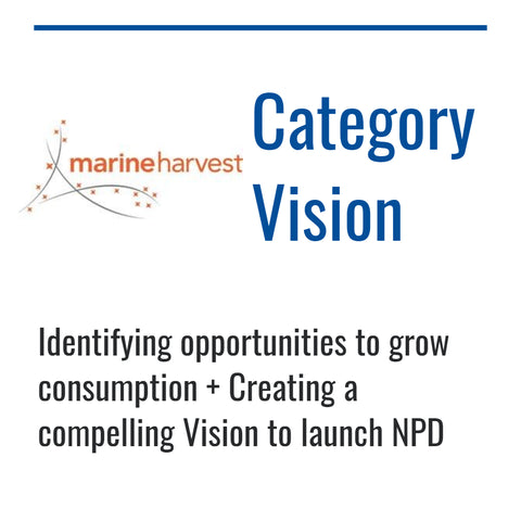 Marine Harvest category vision case study by Dynamic Reasoning