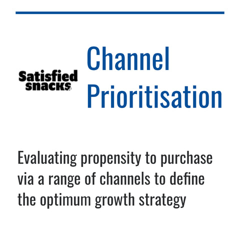 Satisfied Snacks channel strategy case study by Dynamic Reasoning
