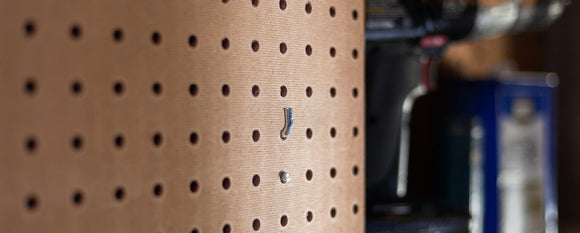 9 Ultimate Pegboard Hacks: Save 10x More Space On Your Pegboard