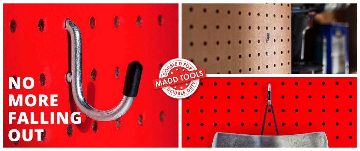 how to keep pegboard hooks from falling out - A definite guide | Madd Tools