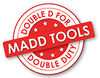 "1/4"" Pegboard Screwdriver Holder Set 