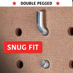 "1/4"" Pegboard L Hook Set 