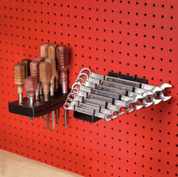 Pegboard (Small & Medium) Screwdriver Holder & Wrench Holder Set