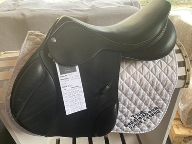 "#1161 17.5"" Zaldi cc Jumping Saddle N"