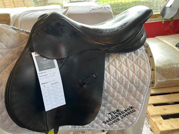 "#1179 18"" SOS Jumping Saddle MED"