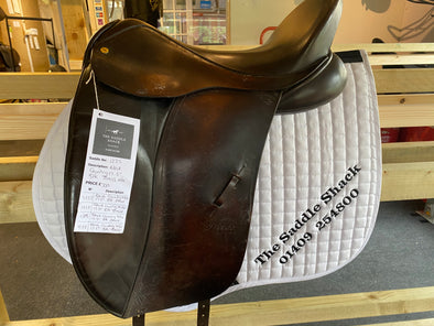 "#1225 17.5"" Black Country  Dressage M/W. (Freedom Tree)"