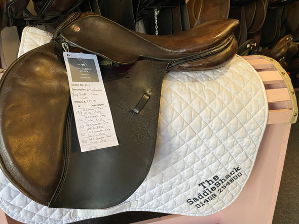 "#1318 16.5"" Lemetex Jumping Saddle WIDE"