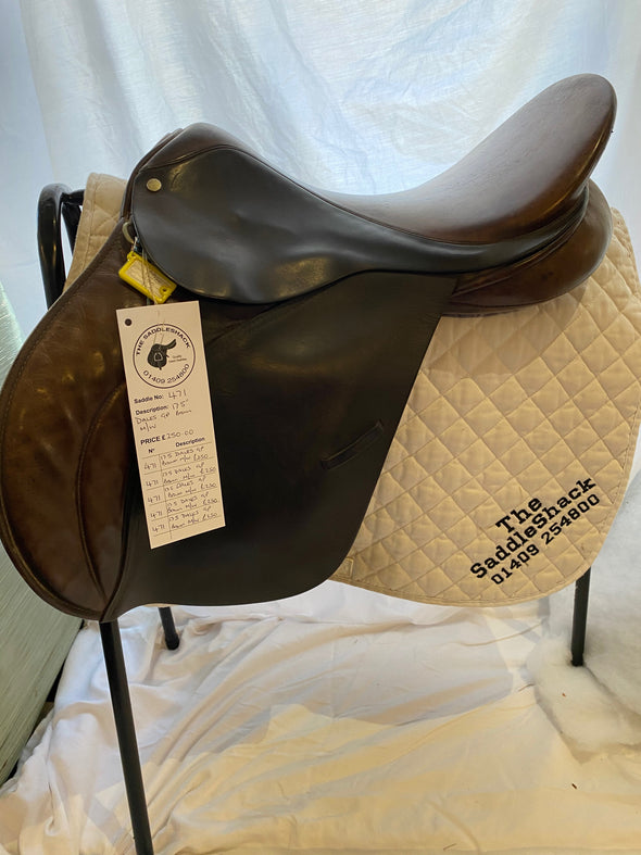 #0471 17.5 Dales General Purpose Saddle M/W Brown