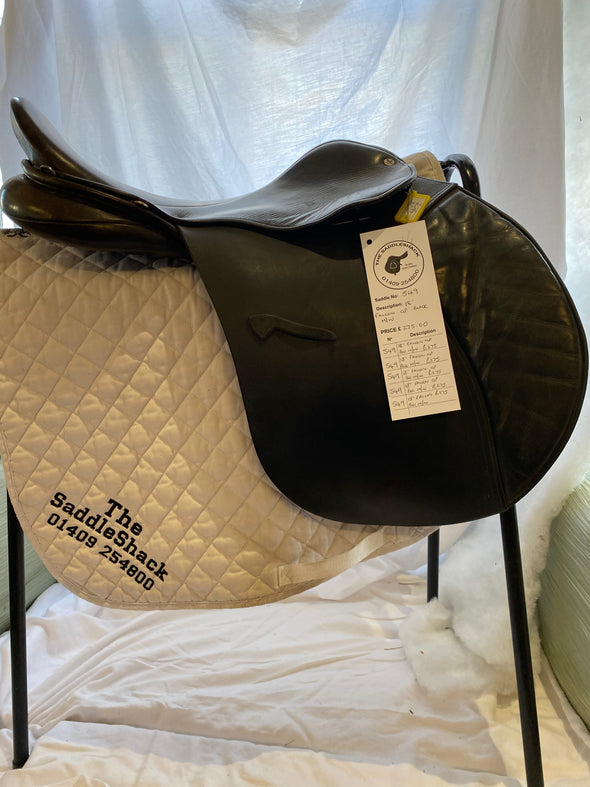 "#0549 18"" Flacon General Purpose Saddle M-M/W Black"