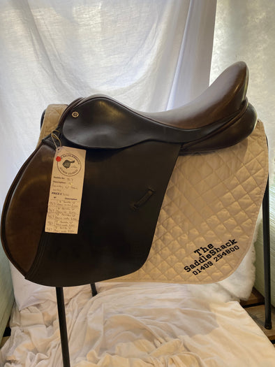 "#0967 18.5"" Barnsby General Purpose Saddle W Black"