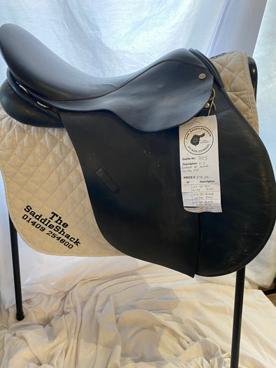 "#0895 17.5"" Walsall General Purpose Saddle W Black"