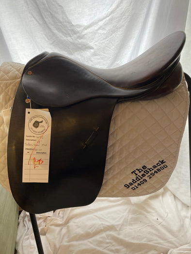 "#0492 18"" Stubben Show/Working Hunter Saddle M Brown"