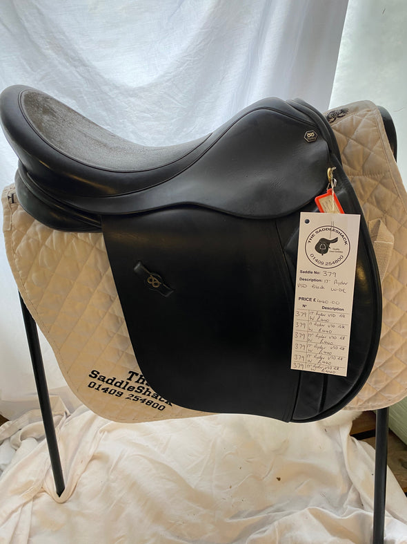 "#0379 17"" Ryder VSD Saddle W Black"