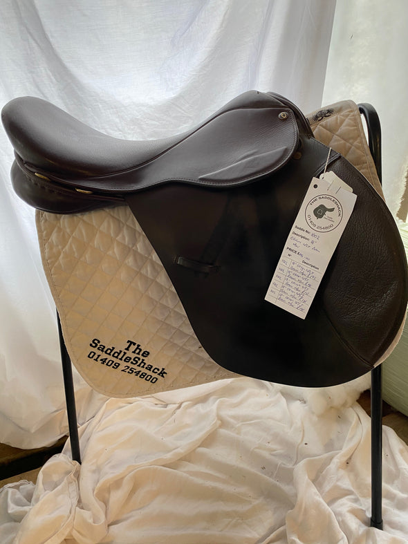 "#1002 18"" Origin Jump Saddle M/W Brown"